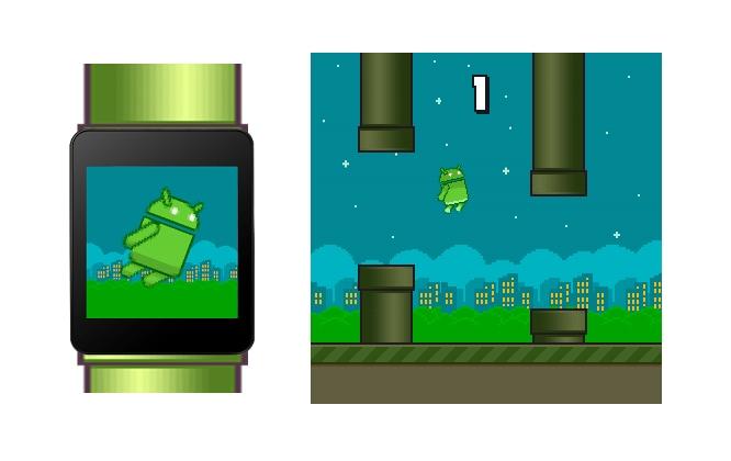 Flopsy Droid: il clone di Flappy Bird per il vostro smartwatch Android Wear (video)
