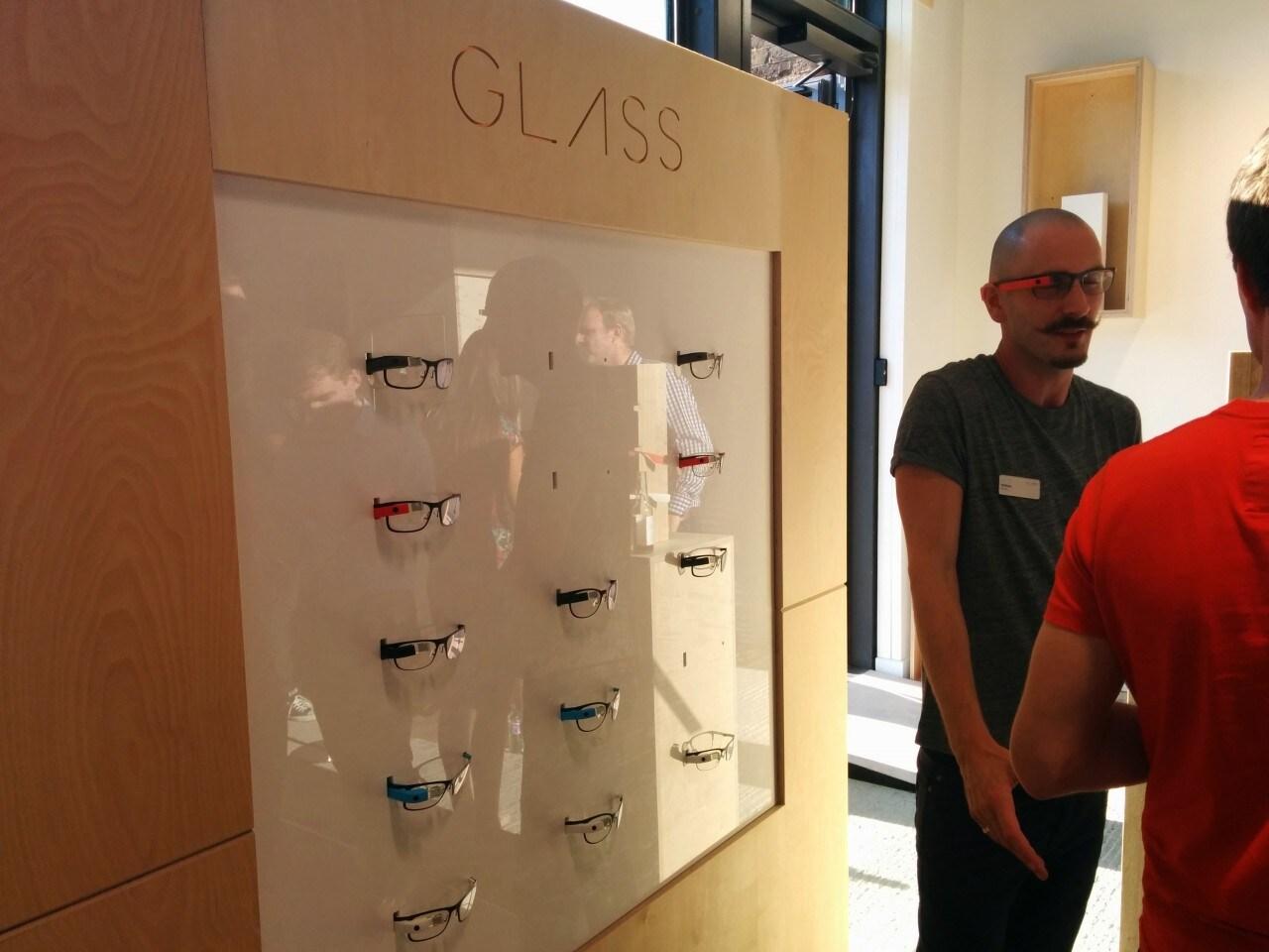 Foto Londra Google Glass 11