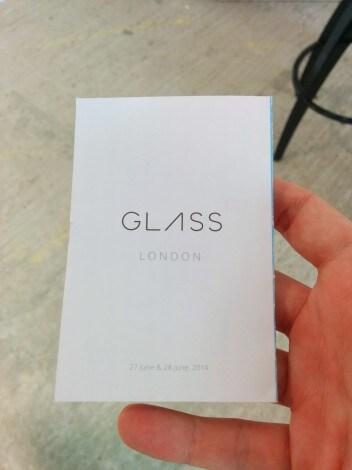 Foto Londra Google Glass