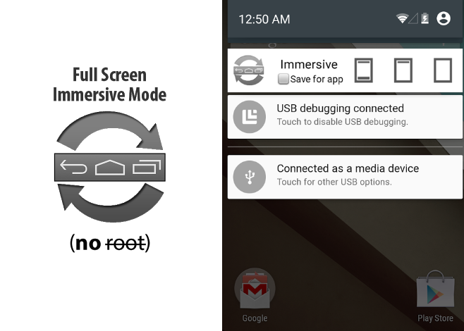 GMD Full Screen Immersive Mode_applicazione_immersive mode