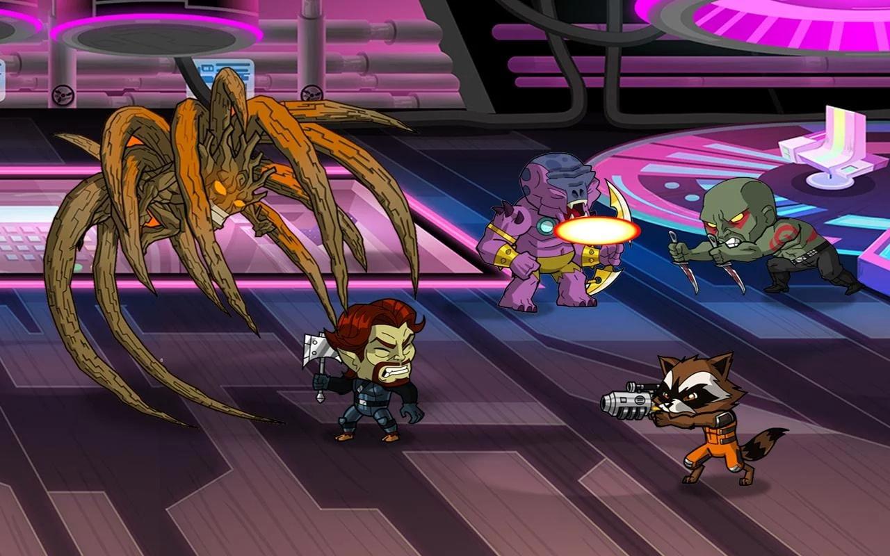 Guardiani della Galassia A.U. Android (1)