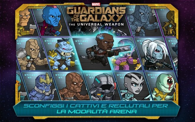 Guardiani della Galassia A.U. Android (5)