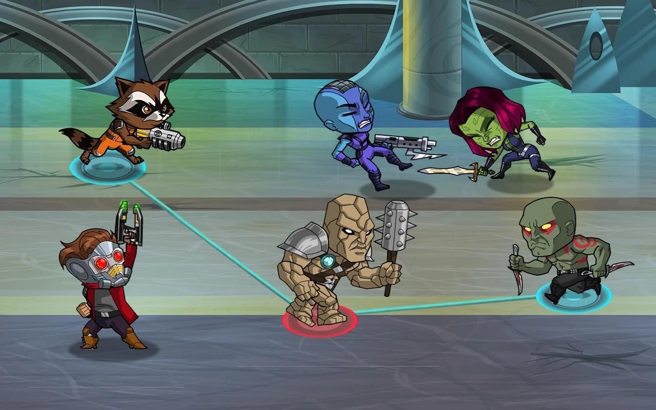 Guardiani della Galassia A.U. Android (6)
