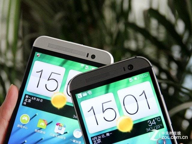HTC One (M8) vs HTC One E8 (foto)