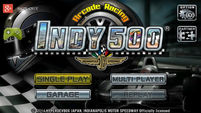 INDY 500 Arcade Racing Android (1)