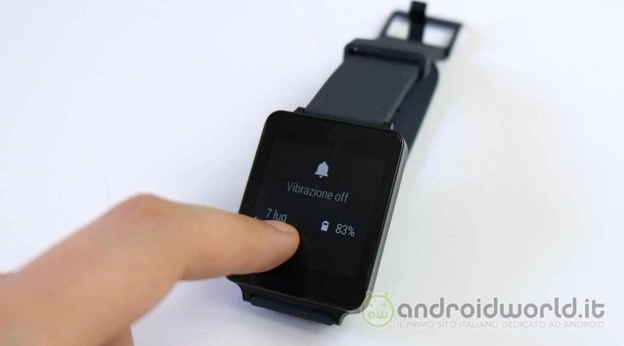 Come ripristinare LG G Watch (guida)