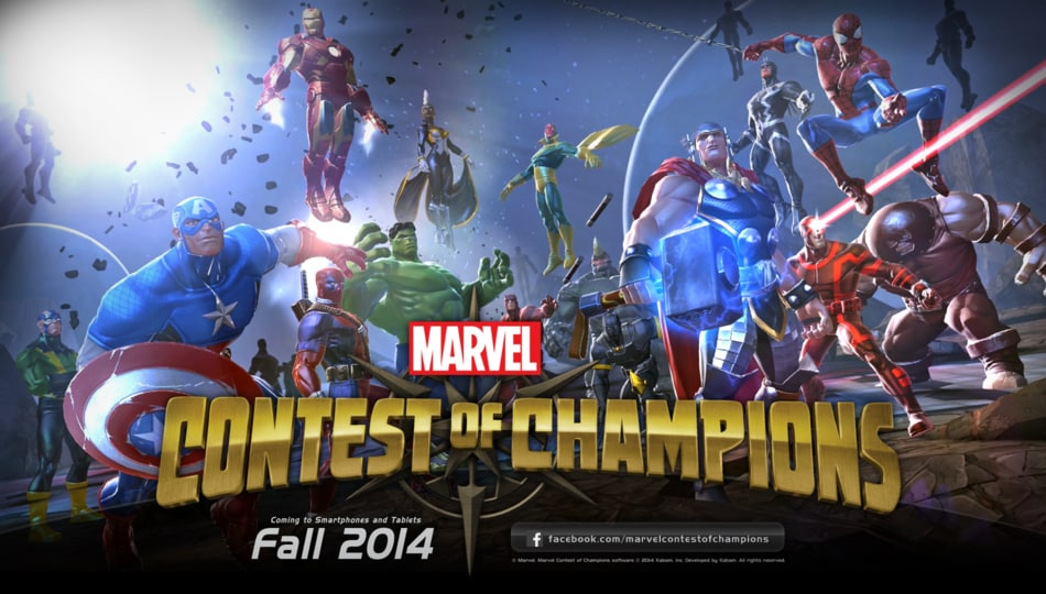 Marvel Contest of Champions Header