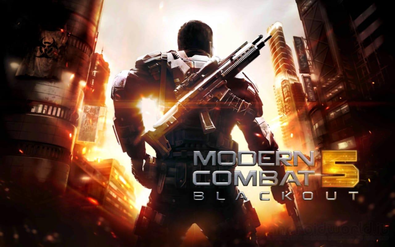 Modern Combat 5: Blackout scontato del 40% sul Play Store (video)