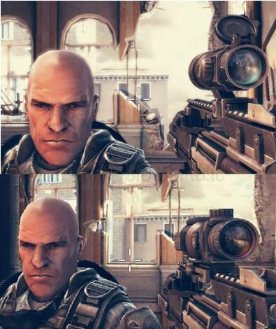 Modern Combat 5 update confronto grafico