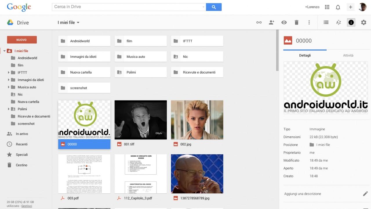 Nuovo Google Drive