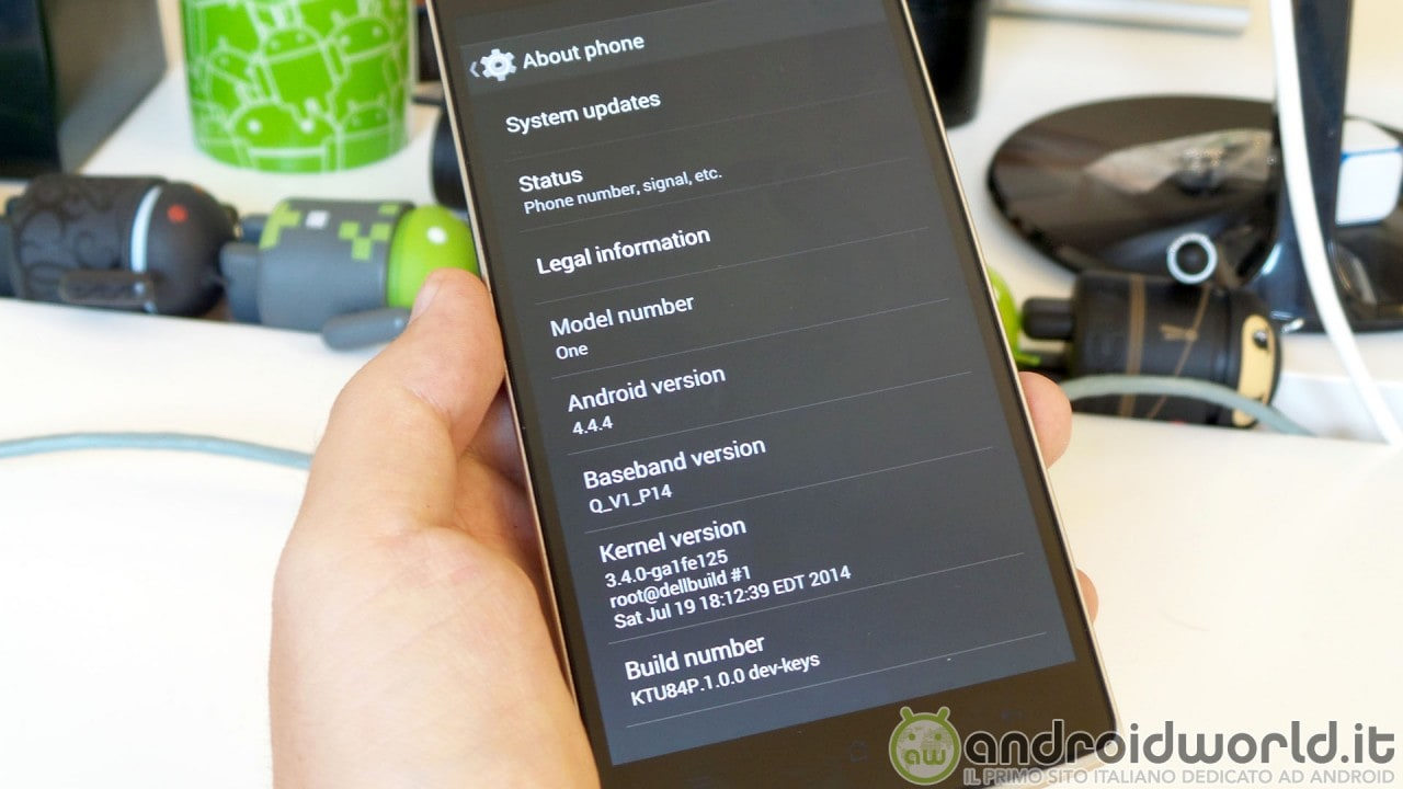 OnePlus One Andorid 4.4.4 stock