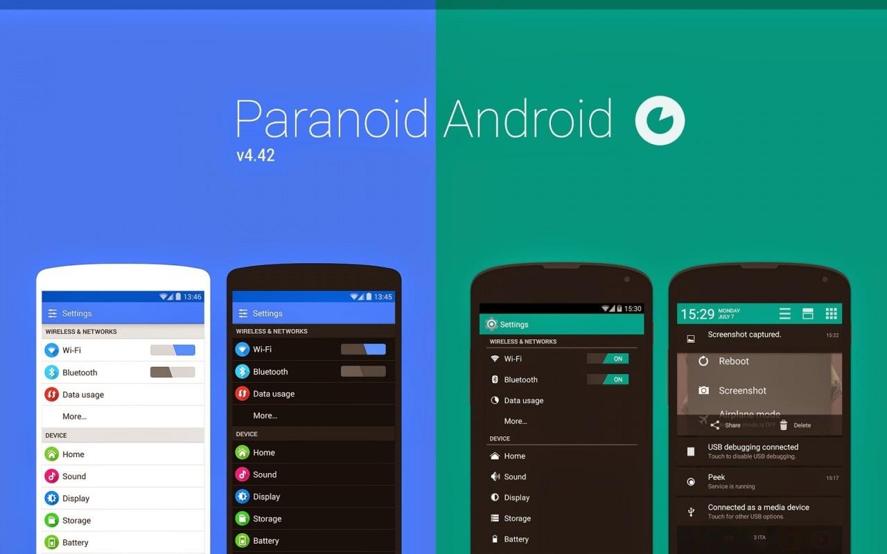 Paranoid Android 4.42 disponibile con alcuni fix, ma le novità arriveranno la prossima settimana