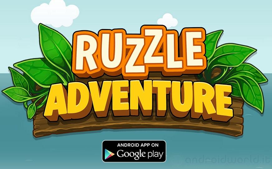 Ruzzle Adventure Header Android