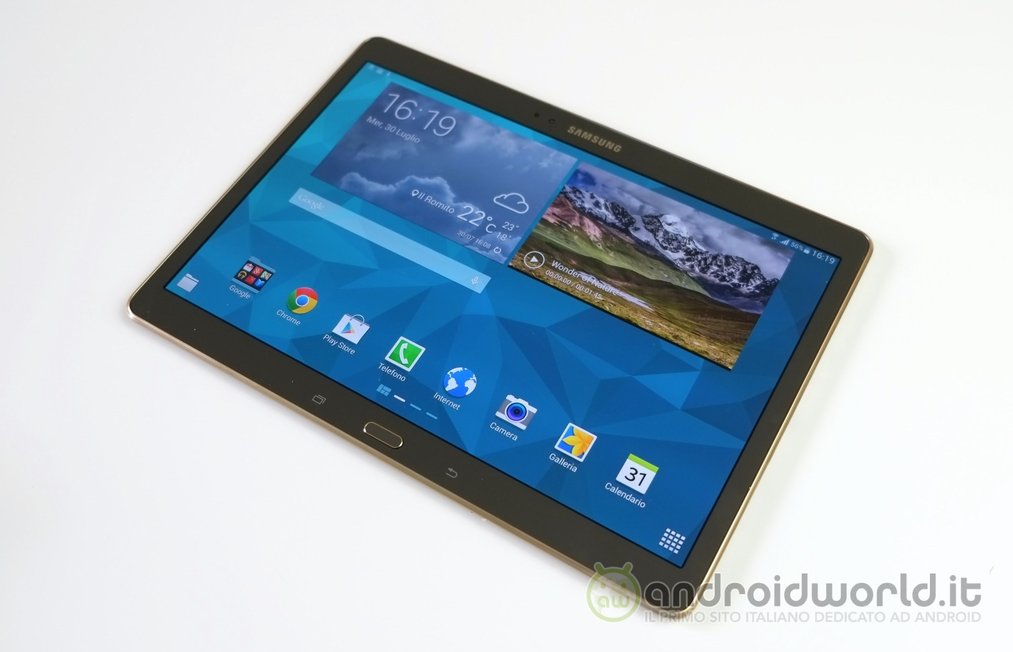 samsung galaxy tab s 10 5 lte riceve lollipop in italia. Black Bedroom Furniture Sets. Home Design Ideas