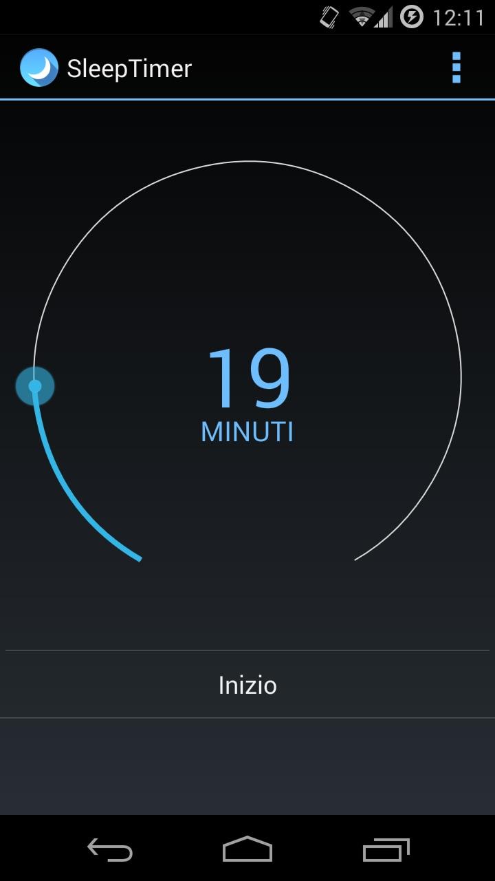 Addormentarsi con Android, grazie a Sleep Timer (foto)