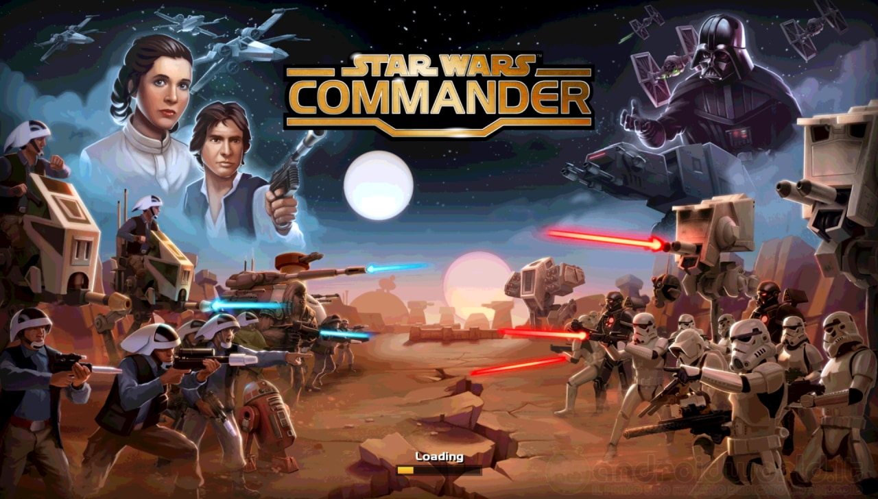 Star Wars Commander Android prova