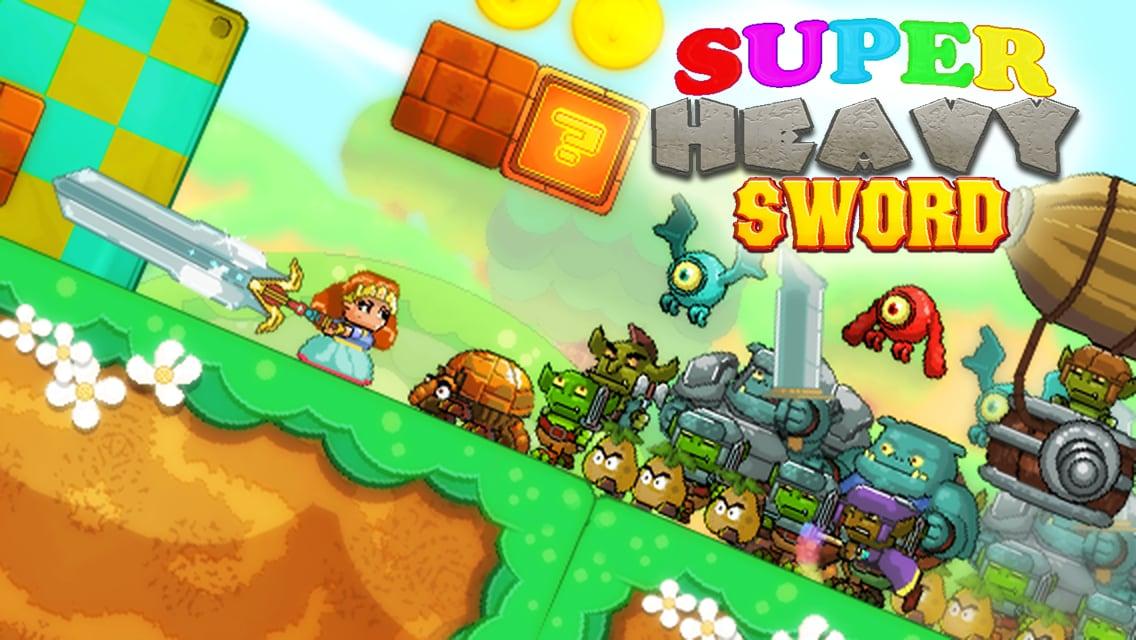 Super Heavy Sword, un simpatico clone di Super Mario con spade e armature (foto e video)
