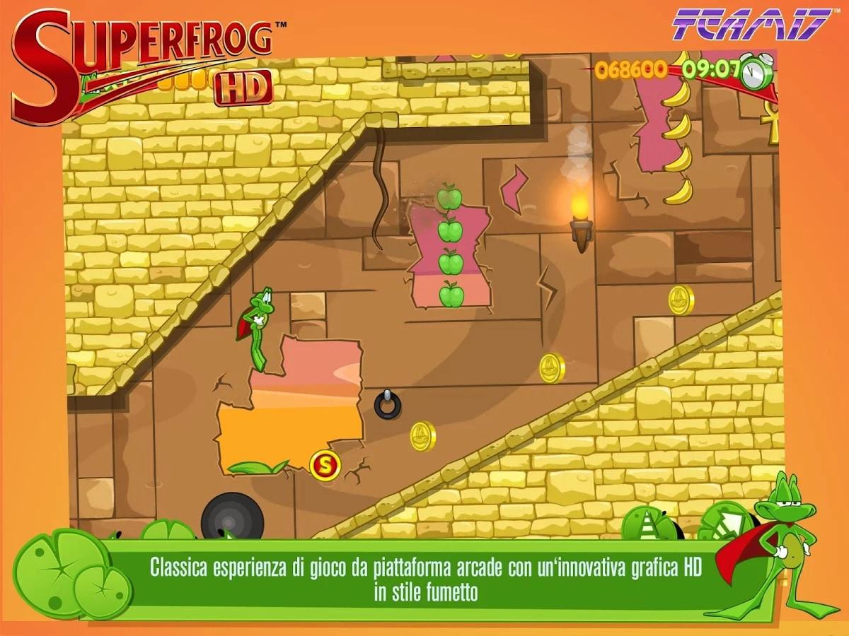 Superfrog HD Android (4)