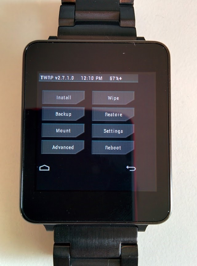 TWRP g watch