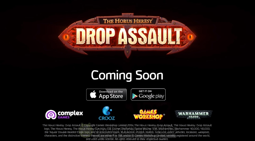 """The Horus Heresy: Drop Assault, il """"Clash of Clans"""" di Warhammer 40K in arrivo su Android (video)"""