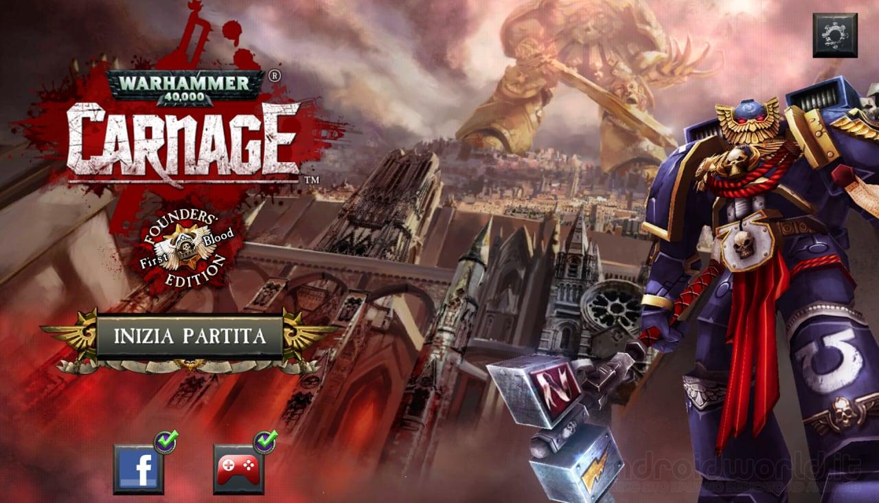 Warhammer 40000 Carnage videoprova