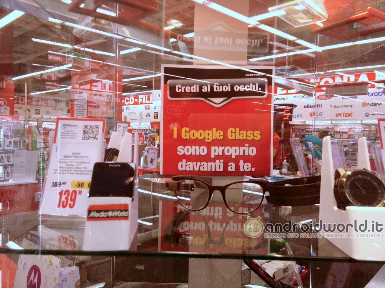 Google non ha autorizzato la vendita dei Glass in Italia: la smentita ufficiale