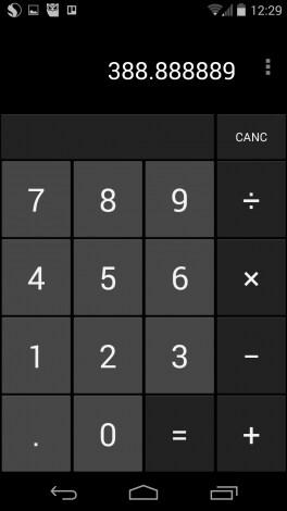 kitkat calcolatrice