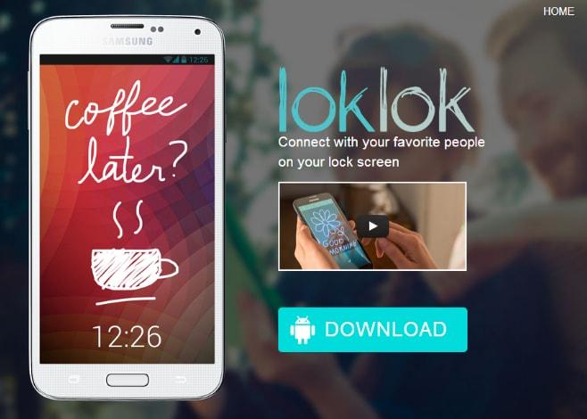 LokLok: un lock screen sociale per scambiare disegni (foto e video)