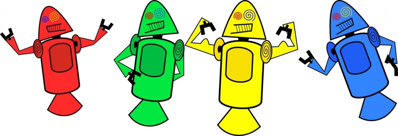mascotte android originale