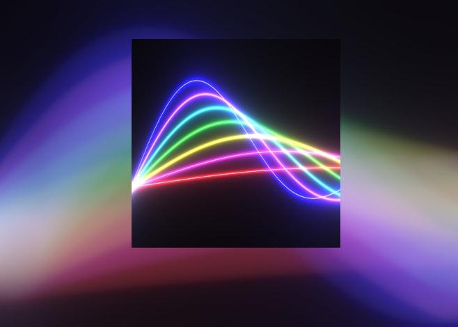 Sfondi live fluorescenti con Nexus Neon Wave HD  (foto)