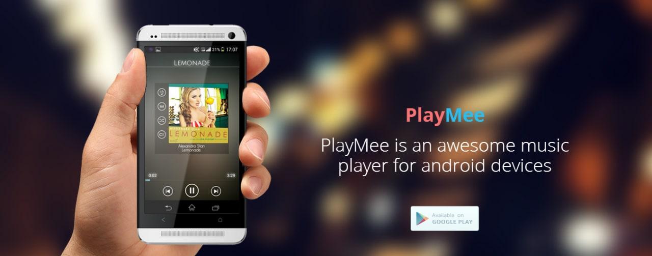 PlayMee, un nuovo player musicale gratuito per Android (foto)