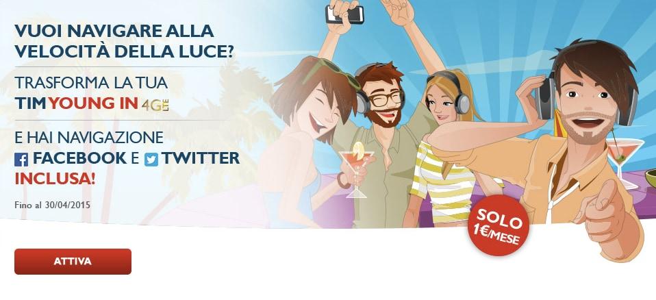 TIM Social LTE: nuova offerta dedicata però a chi è già cliente TIM
