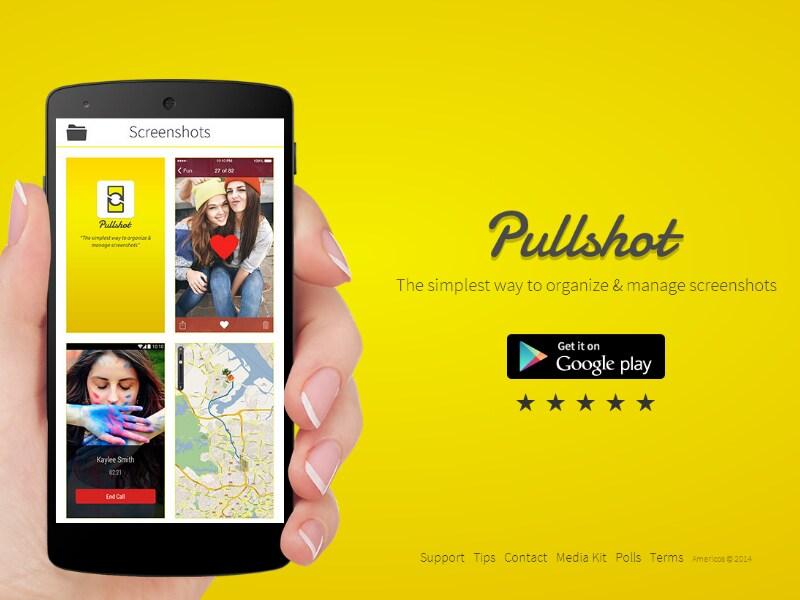 pullshot_applicazione_organizzare screenshot