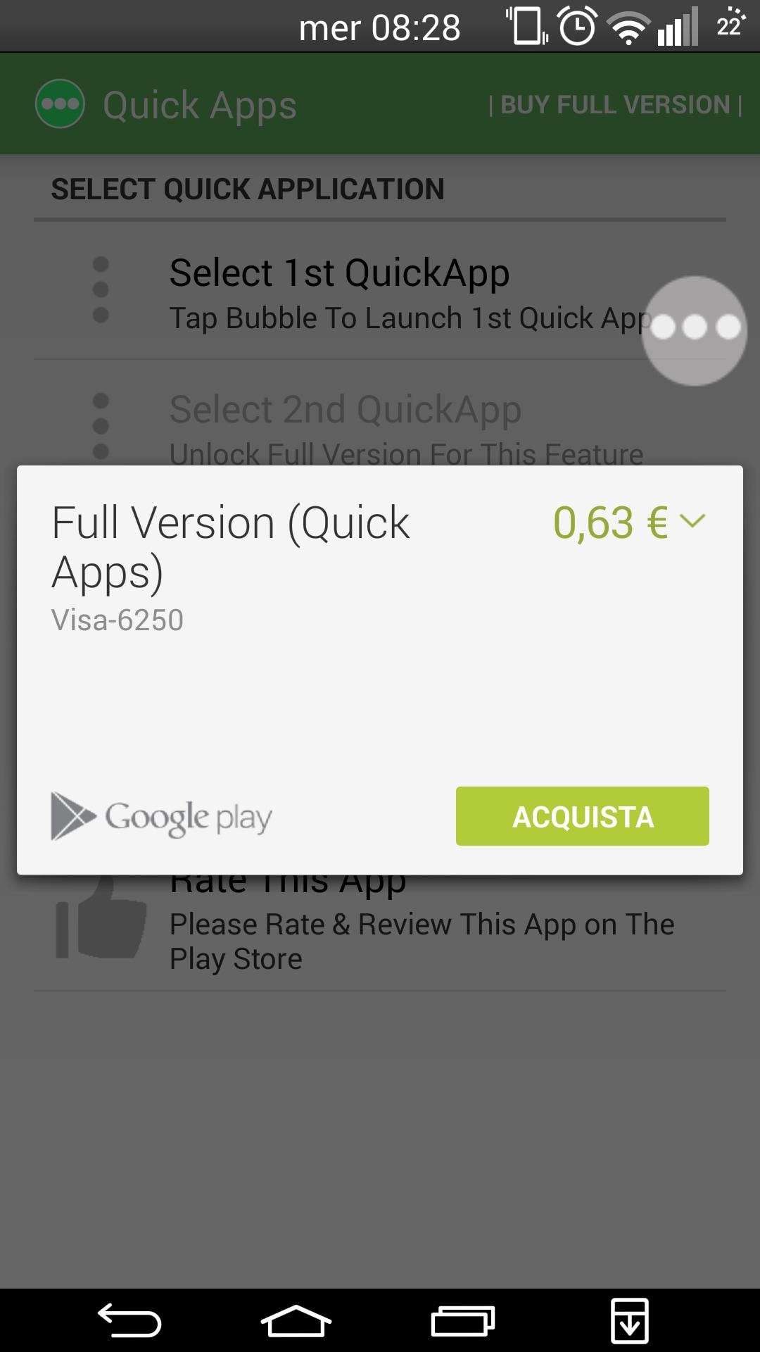 quick apps_applicazione_ avviare app da android wear (5)