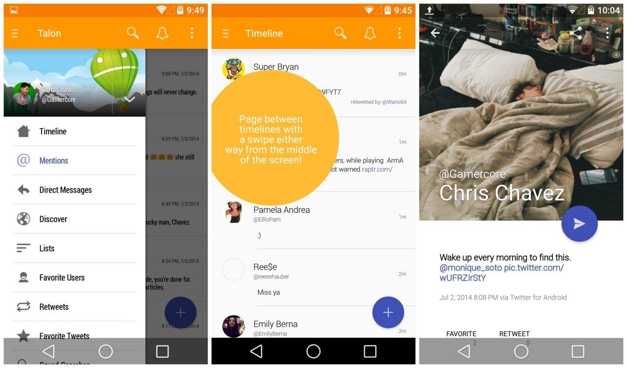 Talon e Titanium Backup tra le prime app ad aggiornarsi al Material Design su Android L