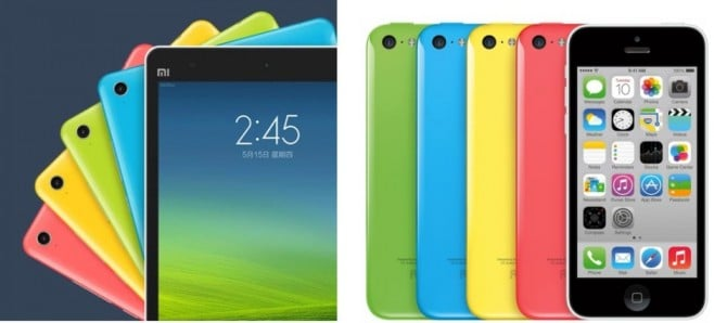 xiaomi mi pad iphone