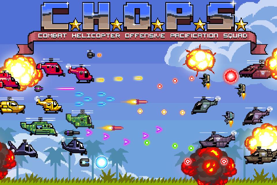 C.H.O.P.S.: uno sparatutto che mixa Jetpack Joyride e Flappy Bird! (foto e video)