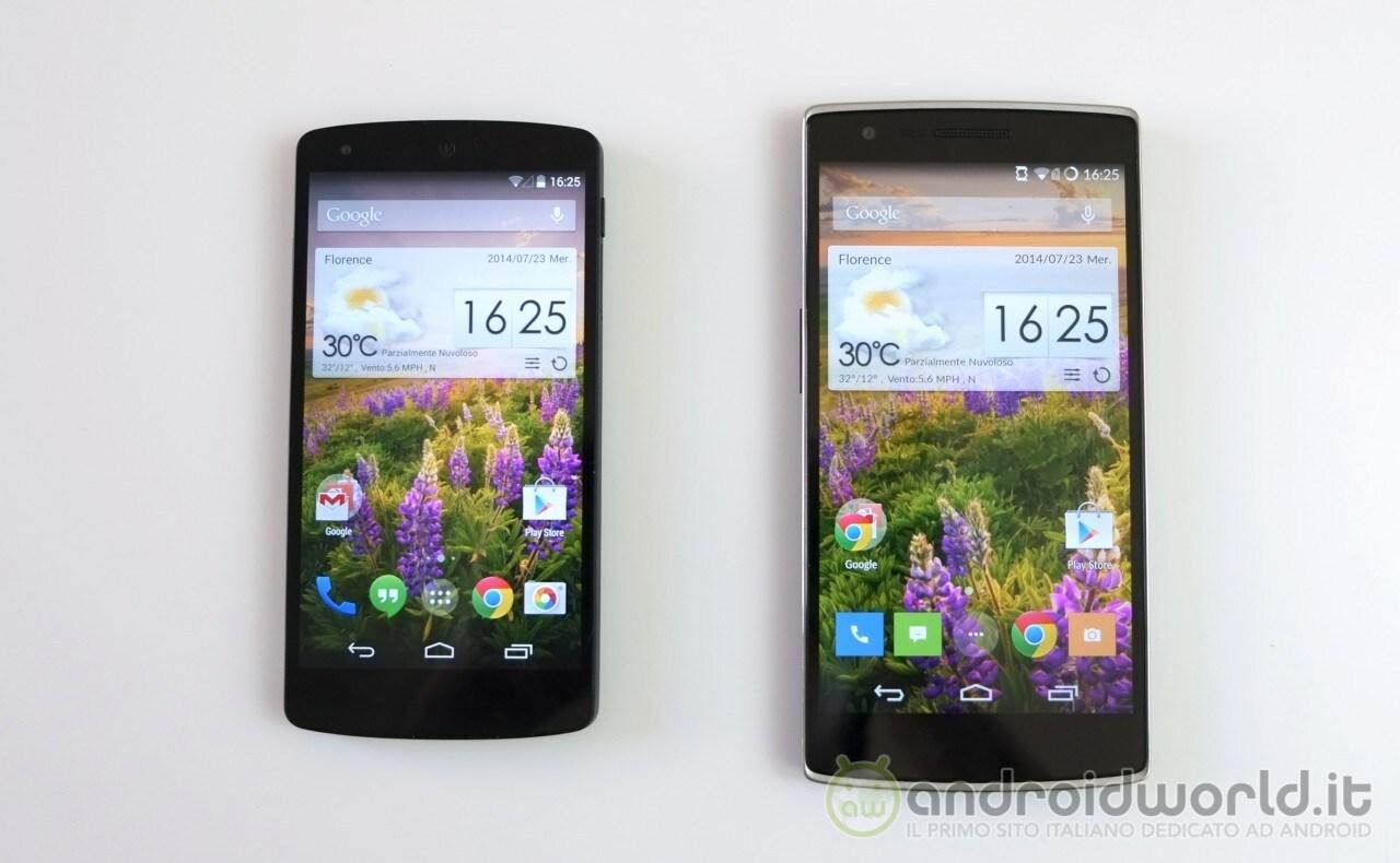 Conf Nexus5 OPO 1