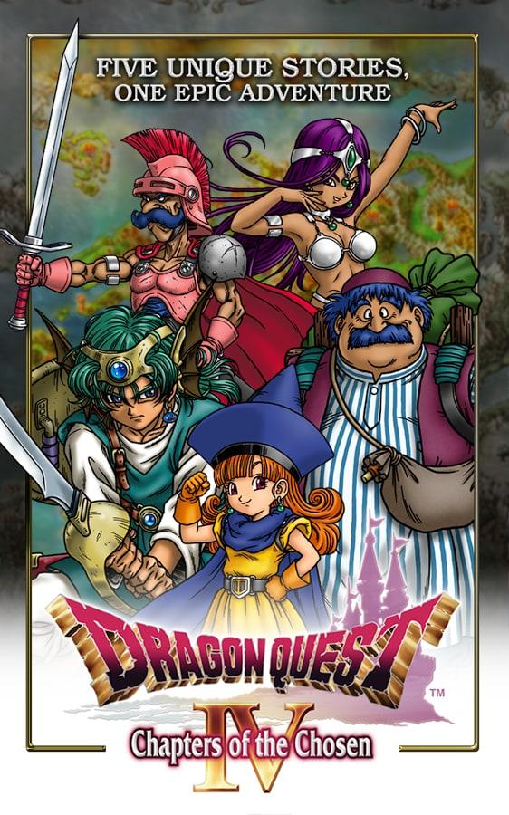 DRAGON QUEST IV di Square Enix disponibile per Android (foto e video)