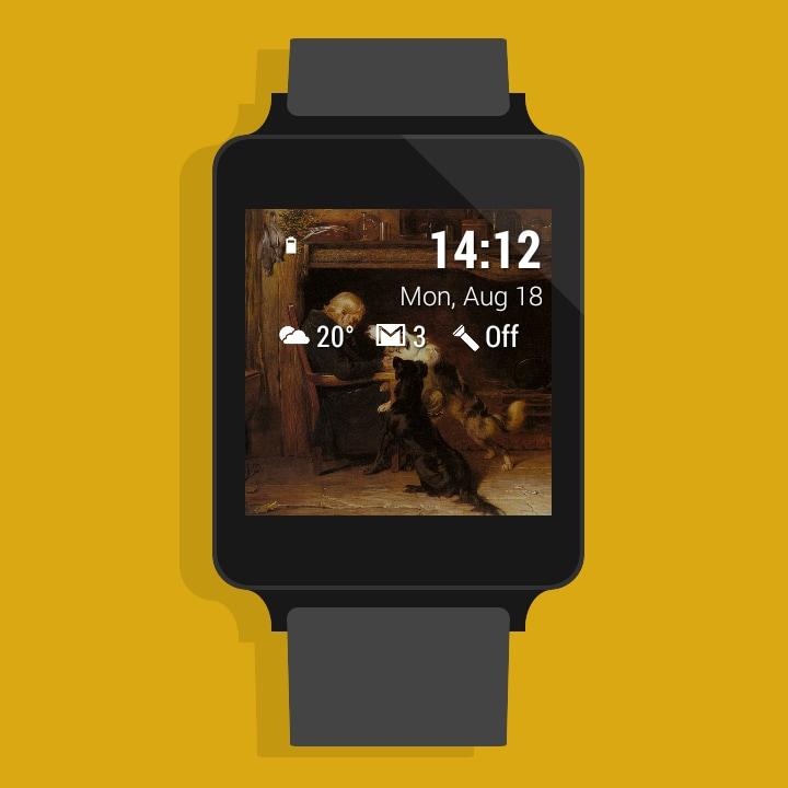 DashWatch si aggiorna, integra Muzei e diventa la miglior watch face per Android Wear (foto)
