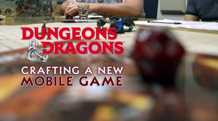 Dungeons & Dragons Mobile Header