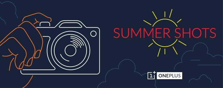 OnePlus Summer Shots: nuovo concorso con 10.000 inviti in palio (e 100 T-Shirt)