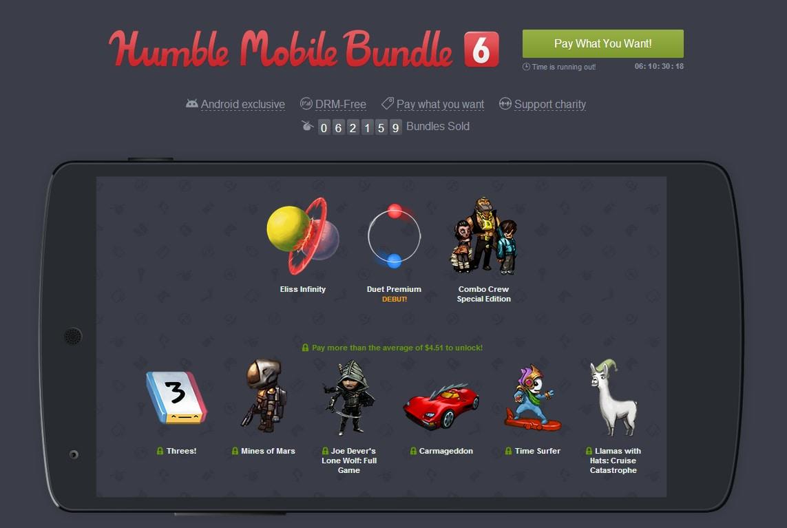Humble Mobile Bundle 6 Espanso