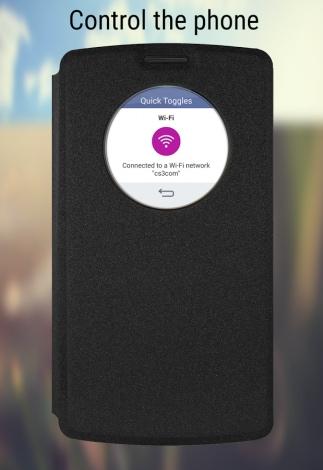 LG Quick Circle Apps 7