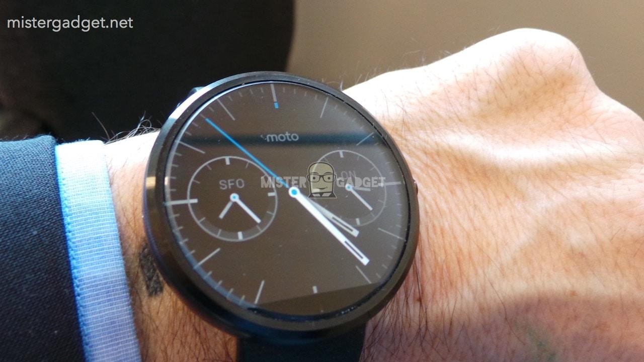 Motorola Moto 360 dal vivo 25