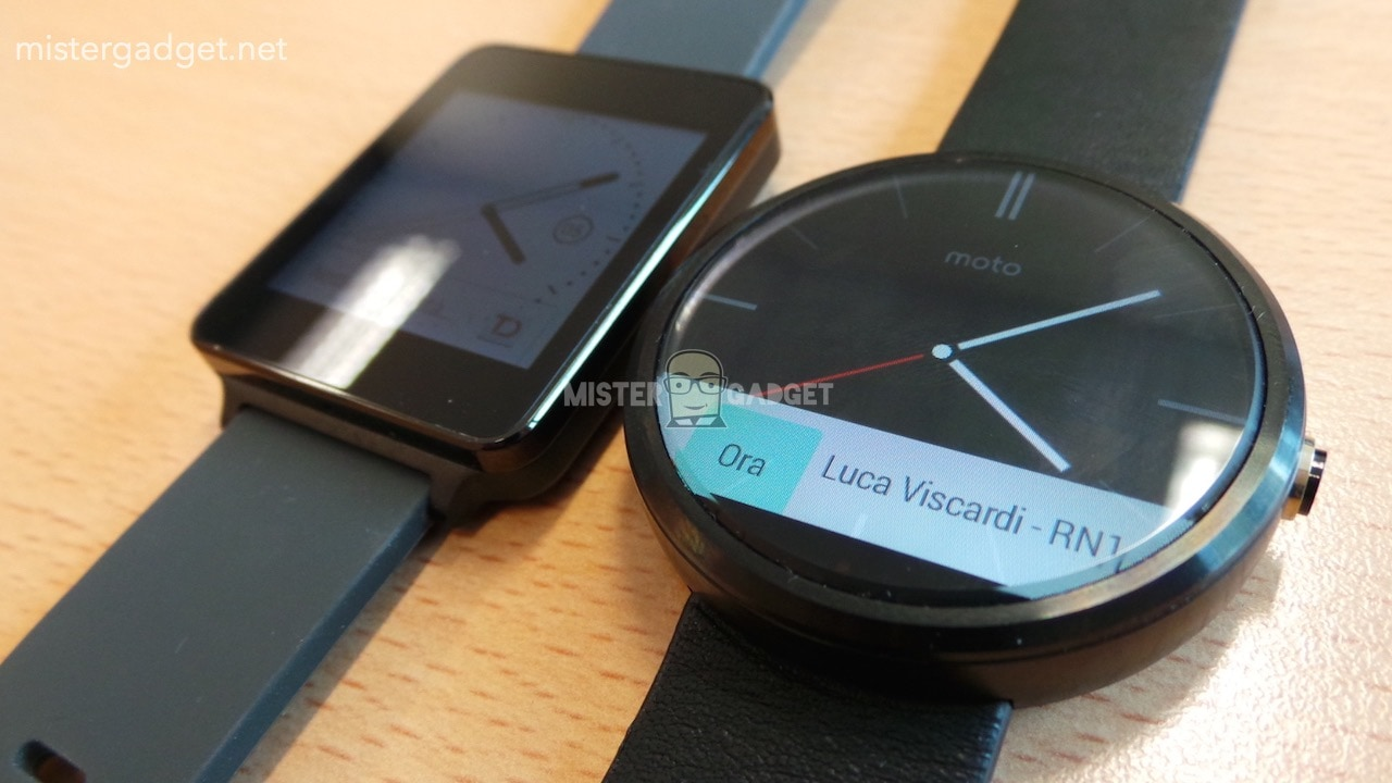 Motorola Moto 360 dal vivo