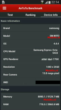 Note4-benchmarks