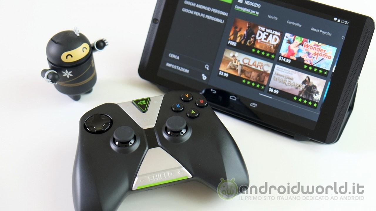 Arriva l'hotfix per NVIDIA Shield Tablet per il problema della riproduzione dei colori