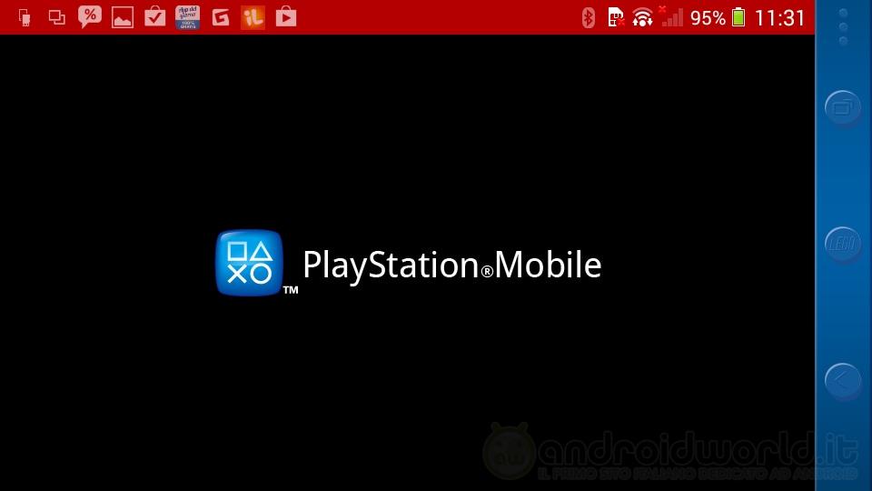 PlayStation Mobile Header