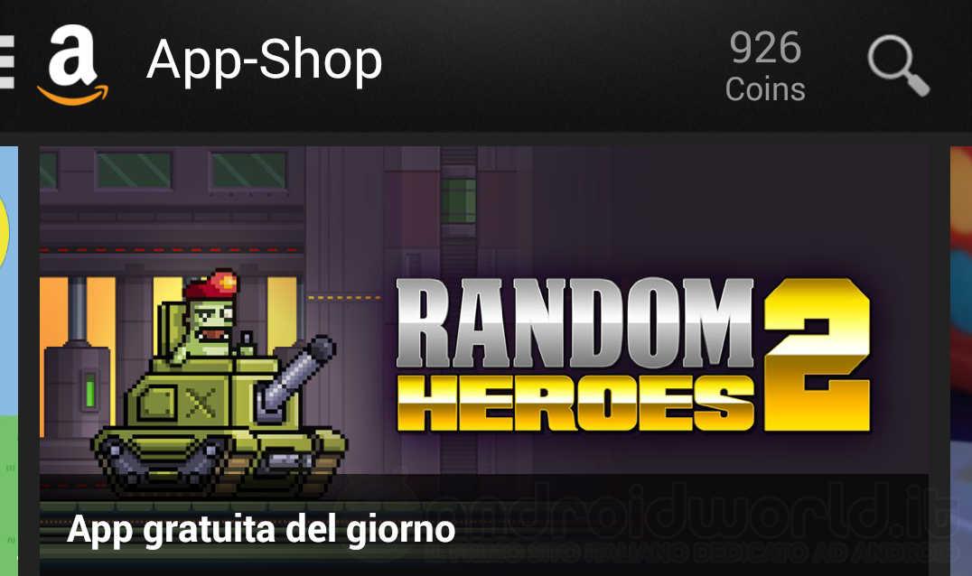 Random Heroes 2 è l'App gratuita del giorno su Amazon App-Shop (video)